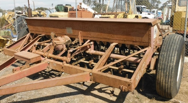 Coulty Disc Undercarriage to Suit International A6 Combine