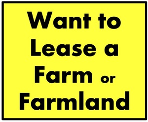 WANTED to Lease a Farm or Farmland  in Northern River Region