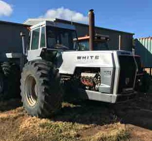 White 4-180 Tractor