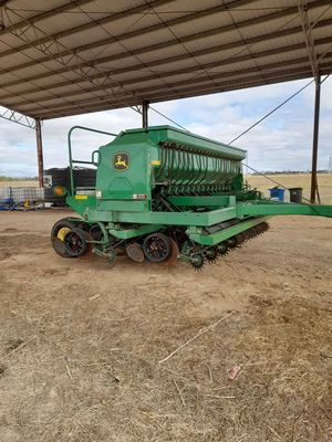 2013 John Deere 1590 Disc Drill, BEEN LOOKED AFTER.