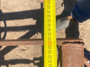 John Shearer 5.3 metre fold up  Scarifier