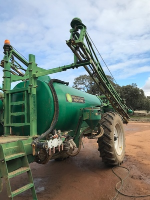 2011 Goldacres EF4021 Special Boom Spray