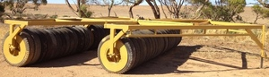 Rubber Tyre Roller 36ft