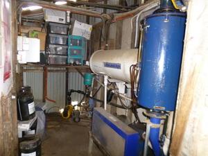 3 Phase recirulating vacuum pump and motor