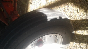 Header Tyre 11.25 24  Hard size to find