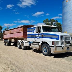International 3600 S-Line Truck and Steel Tipper