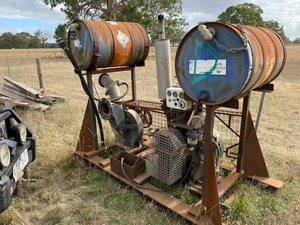 Ruston and Hornsby Flood Pump