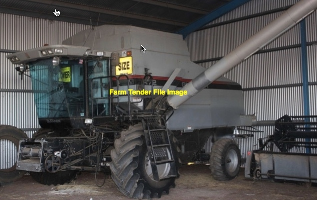 Gleaner R72 with 36ft MacDon Front Wanted