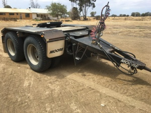 Dolly Moore Road Train Dolly Tandem Airbag