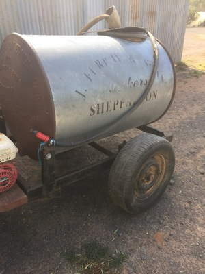 1920 Furphy Tank with Tap and Lid