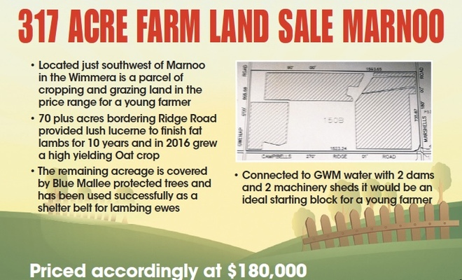 317 acres for sale in the renowned Marnoo district