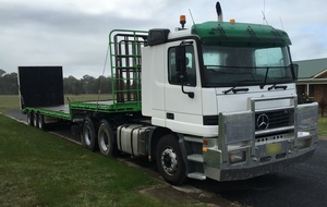 Mercedes Benz 2643 ACTROS Cab Chassis