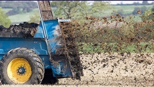 Manure  for spreading