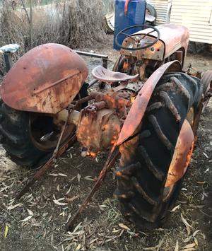 3x Massey Furguson Tractors