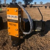 NE 750 Hydraulic Post Driver