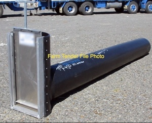 Wanted Poly Pipe for Open Channel Replacement 400mm