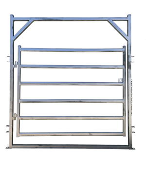 Under Auction - (A131) - 2 x New  Cattle Yard Gate In Square Frame - 2% + GST Buyers Premium On All Lots