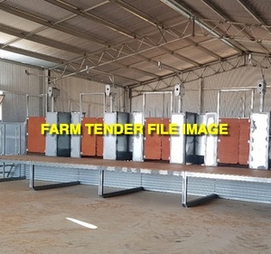 WANTED Shearing Plant Modules 4 Stand