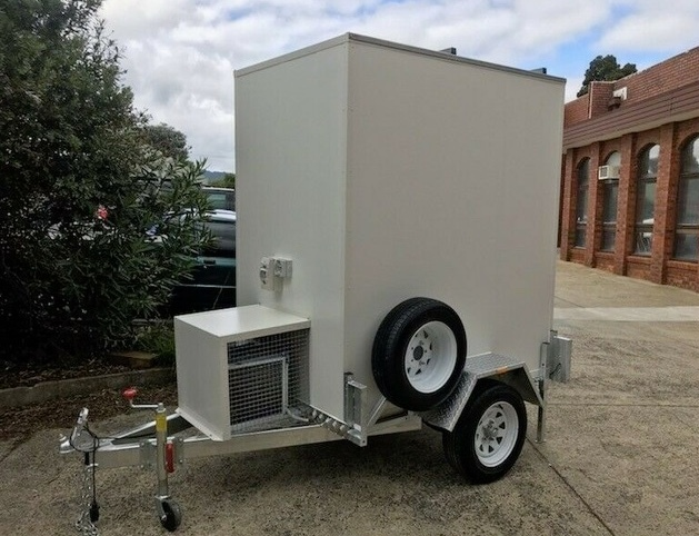 6 x 4 - DIY Mobile Butcher Cool Room - Custom Built for your needs - Manufactured in Melb, Vic & dispatched AU wide.