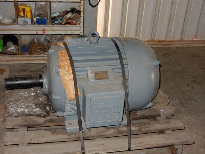 Compton & Parkinson 415 vault Electric Motor