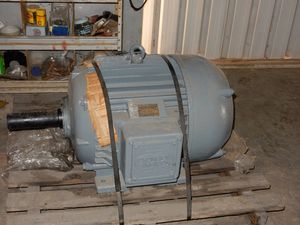 Compton & Parkinson 415 vault Electric Motor