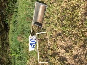 Under Auction - Dairy Wash Sink & Drying Rack - 2% + GST Buyers Premium On All Lots