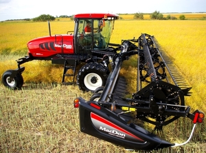 Macdon M155 Windrower with 35 ft head