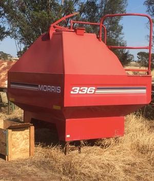 New morris 8000 series 3rd bin with metering system