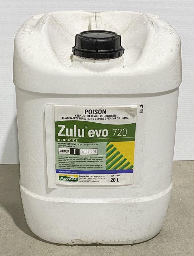 Zulu Evo 20L Pre-Emergent Herbicide