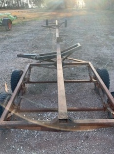 Comb trailer for Macdon 35' D65 Windrow