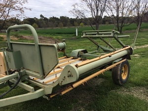 Bale Feed Out Wagon