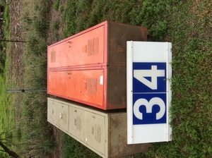 Under Auction - (A129) - Pair of Lockers - 2% + GST Buyers Premium On All Lots