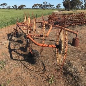 Lely 5 Wheel Hay Rake