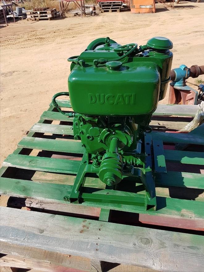 Ducati Single Cyl Diesel Motor