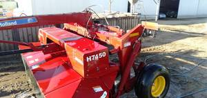 New Holland H7450 Discbine.Mower Conditioner 2013