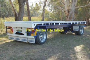 WANTED - 20ft to 25ft Two Axel Dog Trailer