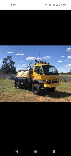 WANTED 4x4 Spray Truck 24m 2000L Isuzu or Mitsubishi