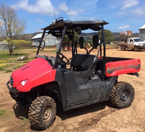 HONDA 700 Side by Side ATV, 2011 Model, in Good Condition