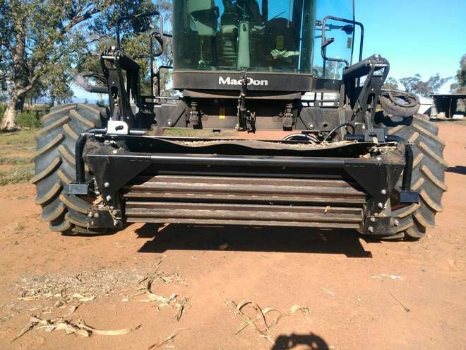 Under Auction - (A130) - 2018, Macdon HC10 Conditioning Rollers - 2% + GST Buyers Premium On All Lots