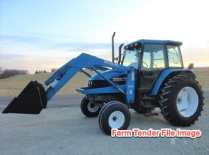 New Holland / Ford TS 100 Tractor  with FEL