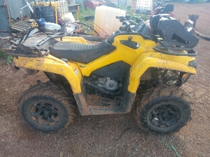 Cam Am 450 Quad Bike