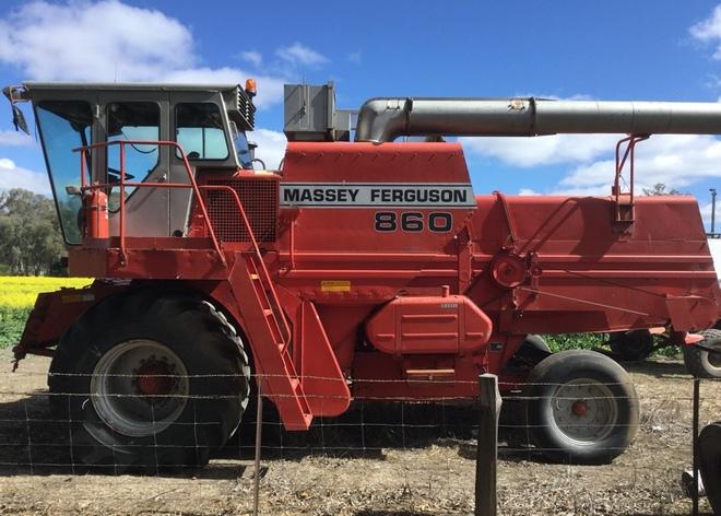 Massey ferguson 860 header