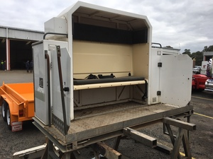 Crew Seat Pod, suitable for mounting to truck or trailer.