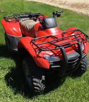 Honda TRX420FMA FourTrax Quad Bike / 4 Wheeler ATV For Sale