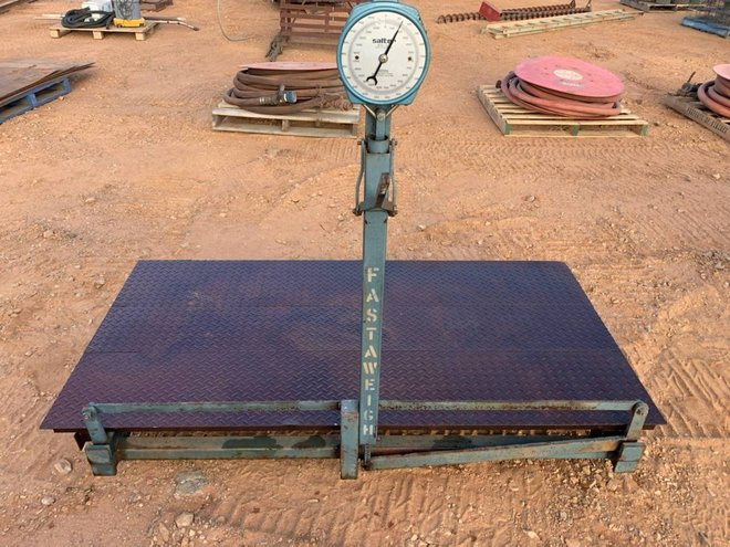 Under Auction - Under Auction (A132) - Fastaweigh Scales - 2% + GST Buyers Premium On All Lots