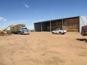 1000 SERIES ENTEGRA HAY SHEDS - (1000 8x4x3 bales) ENQUIRE AT THE PAC