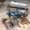 Nissan SD33 Diesel engine block with a Nissan 4 speed gearbox