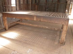 Wooden Wool Table