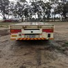 Drop deck trailer 45 foot extendable