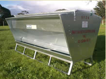 Paton SF24 Sheep & Young Cattle Feeder On Skids